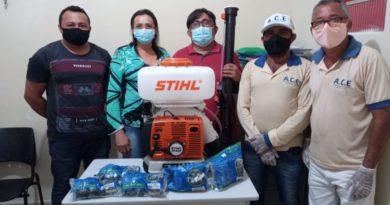 Prefeitura de Catingueira adquire equipamento para reforçar o combate a covid-19